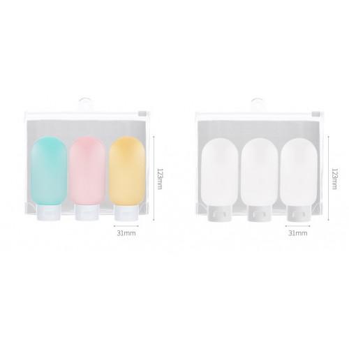 Дорожный набор емкостей для косметики Yuemei. Разноцветный  в  Интернет-магазин Zelenaya Vorona™ 7