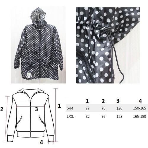 Складная куртка дождевик Sack-it Jacket S/M  в  Интернет-магазин Zelenaya Vorona™ 2