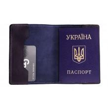 Обложка на паспорт Grande Pelle. Синяя