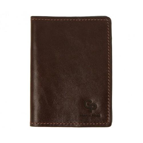 Покупка  Обложка на паспорт Grande Pelle. Шоколад в  Интернет-магазин Zelenaya Vorona™