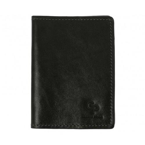 Покупка  Обложка на паспорт Grande Pelle. Черная в  Интернет-магазин Zelenaya Vorona™