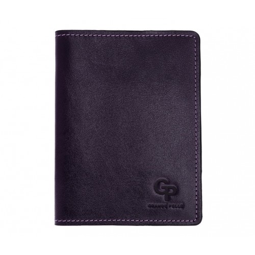 Покупка  Обложка на паспорт Grande Pelle. Синяя в  Интернет-магазин Zelenaya Vorona™