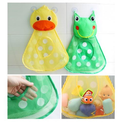 Органайзер в ванную для игрушек на присосках Утенок  в  Интернет-магазин Zelenaya Vorona™ 4