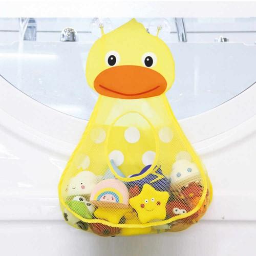Органайзер в ванную для игрушек на присосках Утенок  в  Интернет-магазин Zelenaya Vorona™ 1