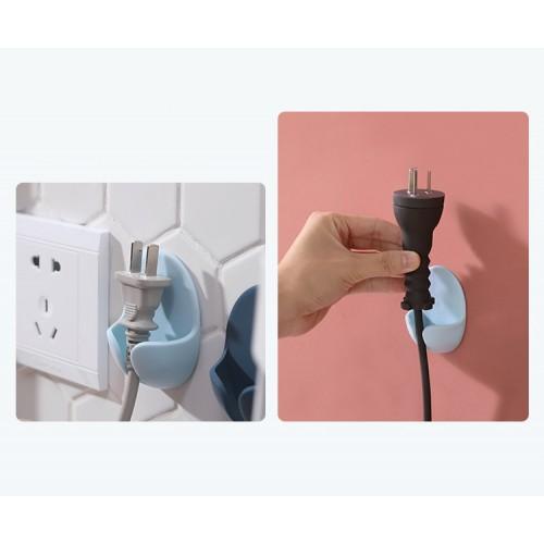 Держатель для проводов, вилок электроприборов на стену 2 шт./наб.  в  Интернет-магазин Zelenaya Vorona™ 2