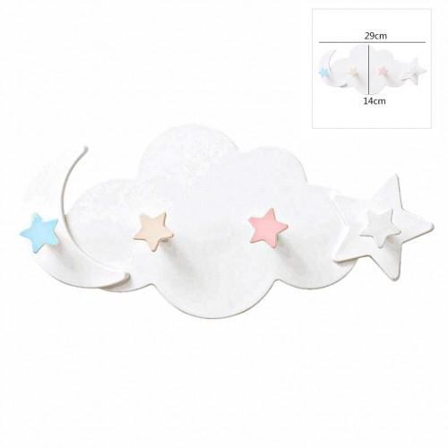 Вешалка настенная в детскую Clouds Hook  в  Интернет-магазин Zelenaya Vorona™ 4