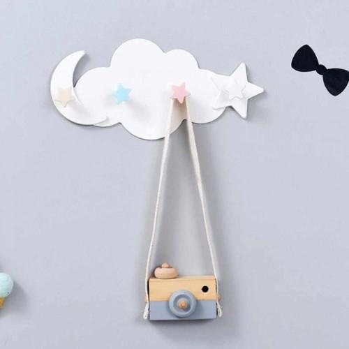Вешалка настенная в детскую Clouds Hook  в  Интернет-магазин Zelenaya Vorona™ 1