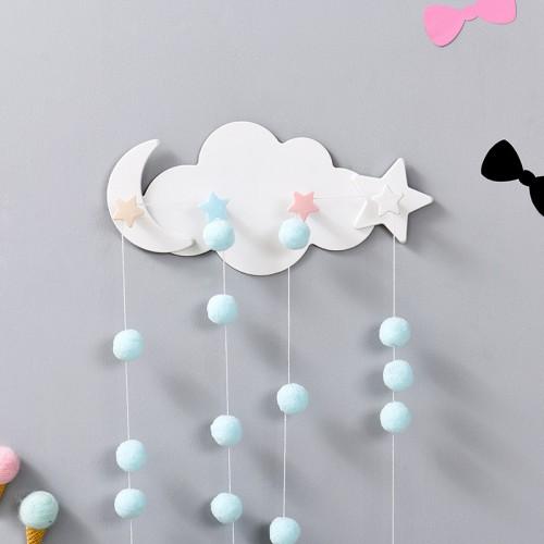 Вешалка настенная в детскую Clouds Hook  в  Интернет-магазин Zelenaya Vorona™ 2