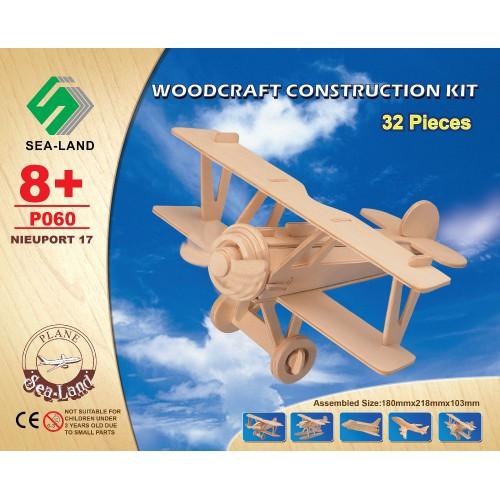 3D Деревянный конструктор. Модель Вертолет  в  Интернет-магазин Zelenaya Vorona™ 1
