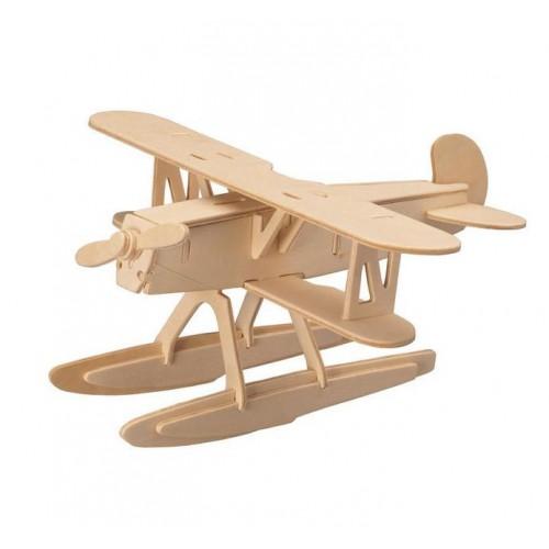Покупка  3D Деревянный конструктор. Модель Истребитель-биплан Хейнкель He 51 в  Интернет-магазин Zelenaya Vorona™