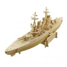 3D Деревянный конструктор. Модель корабль Принц Уэльский