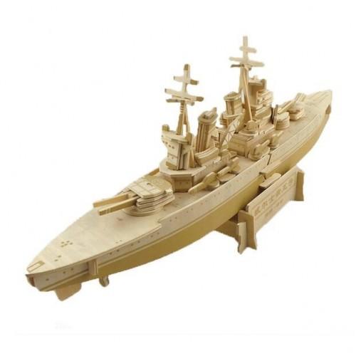 Покупка  3D Деревянный конструктор. Модель корабль Принц Уэльский в  Интернет-магазин Zelenaya Vorona™