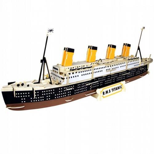 Покупка  3D Деревянный конструктор. Модель корабль Титаник  в  Интернет-магазин Zelenaya Vorona™