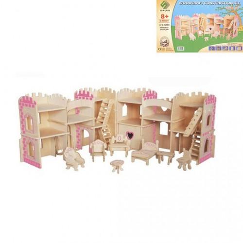 Покупка  3D Деревянный конструктор. Мебель для принцессы в  Интернет-магазин Zelenaya Vorona™