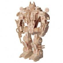 3D Деревянный конструктор. Модель Робот трансформер Оптимус Прайм
