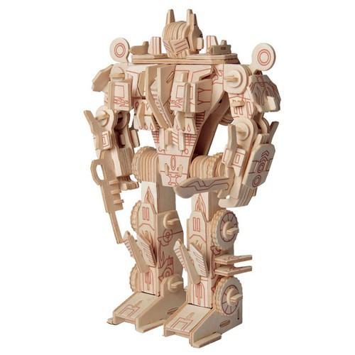 Покупка  3D Деревянный конструктор. Модель Робот трансформер Оптимус Прайм в  Интернет-магазин Zelenaya Vorona™