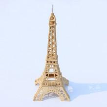 3D Деревянный конструктор. Модель Эйфелева башня
