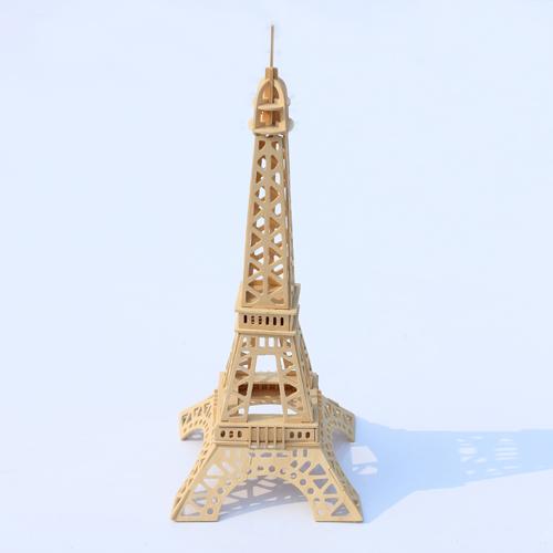 3D Деревянный конструктор. Модель Эйфелева башня  в  Интернет-магазин Zelenaya Vorona™ 1