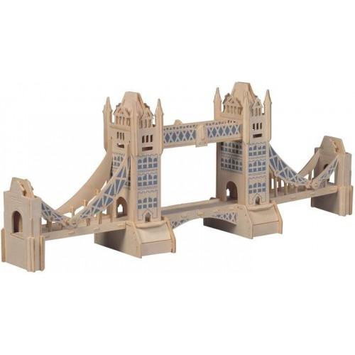 Покупка  3D Деревянный конструктор. Модель Тауэрский мост в  Интернет-магазин Zelenaya Vorona™