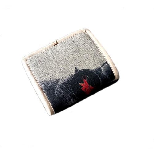 Женский текстильный кошелек Кот в очках  в  Интернет-магазин Zelenaya Vorona™ 2