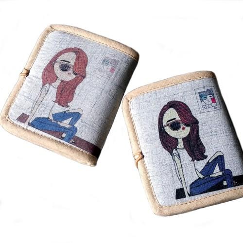 Женский текстильный кошелек Джинсовое настроение  в  Интернет-магазин Zelenaya Vorona™ 1