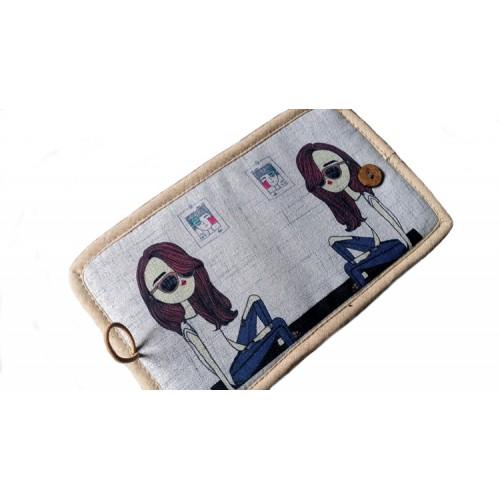 Женский текстильный кошелек Джинсовое настроение  в  Интернет-магазин Zelenaya Vorona™ 2