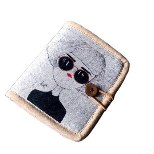 Покупка  Женский текстильный кошелек Капи в  Интернет-магазин Zelenaya Vorona™