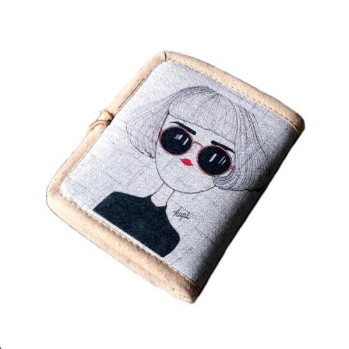 Женский текстильный кошелек Капи  в  Интернет-магазин Zelenaya Vorona™ 1