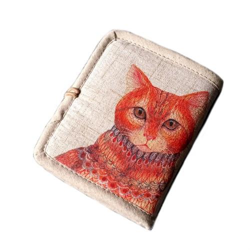 Женский текстильный кошелек Котофей  в  Интернет-магазин Zelenaya Vorona™ 2