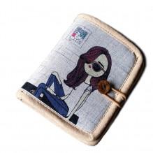 Текстильный кошелек Джинсовое настроение