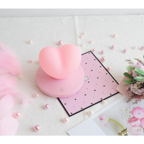 Силиконовый LED светильник/ночник Love. Розовый  в  Интернет-магазин Zelenaya Vorona™ 5
