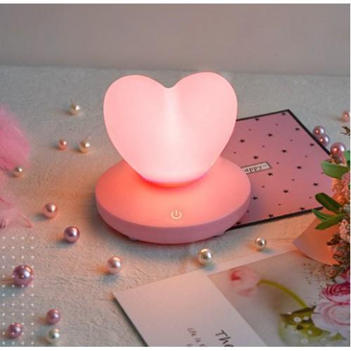 Силиконовый LED светильник/ночник Love. Розовый  в  Интернет-магазин Zelenaya Vorona™ 1