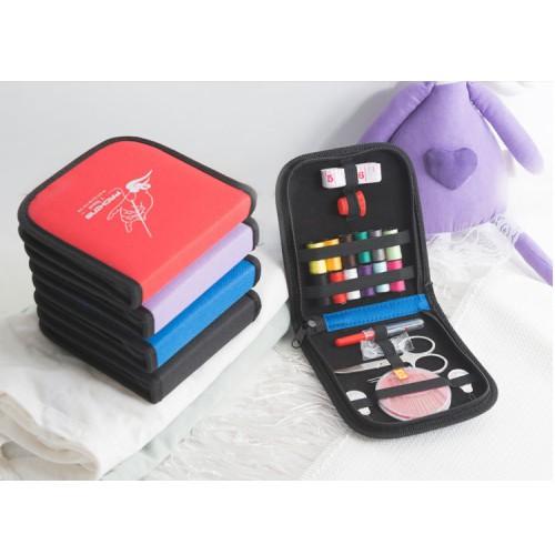 Покупка  Дорожный набор для шитья Packing I Travel. Красный в  Интернет-магазин Zelenaya Vorona™