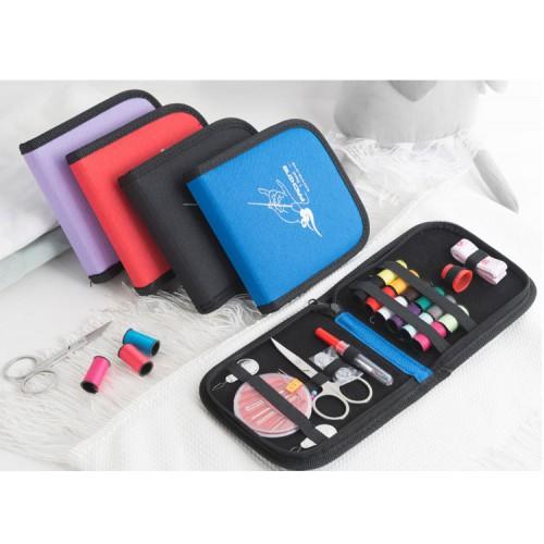 Покупка  Дорожный набор для шитья Packing I Travel. Синий в  Интернет-магазин Zelenaya Vorona™