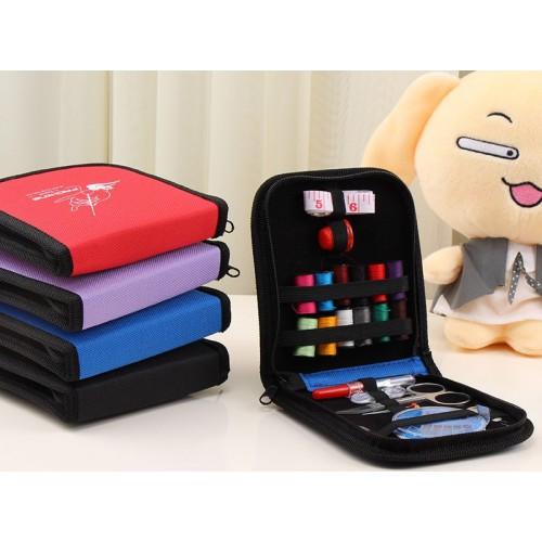 Покупка  Дорожный набор для шитья Packing I Travel. Фиолетовый в  Интернет-магазин Zelenaya Vorona™