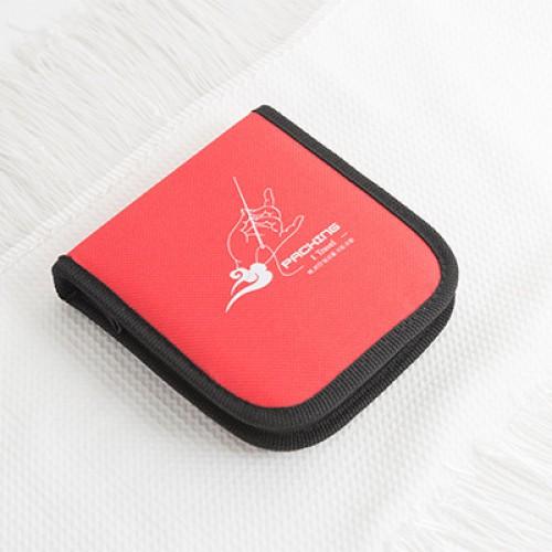 Дорожный набор для шитья Packing I Travel. Красный  в  Интернет-магазин Zelenaya Vorona™ 1