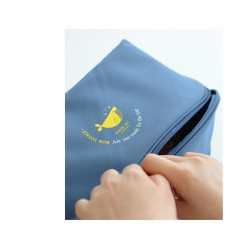 Дорожный органайзер Funnymade для нижнего белья. Синий  в  Интернет-магазин Zelenaya Vorona™ 6