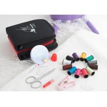 Дорожный набор для шитья Packing I Travel. Красный