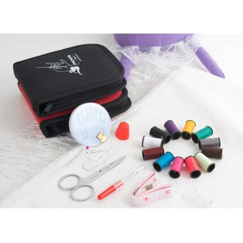 Дорожный набор для шитья Packing I Travel. Фиолетовый  в  Интернет-магазин Zelenaya Vorona™ 4
