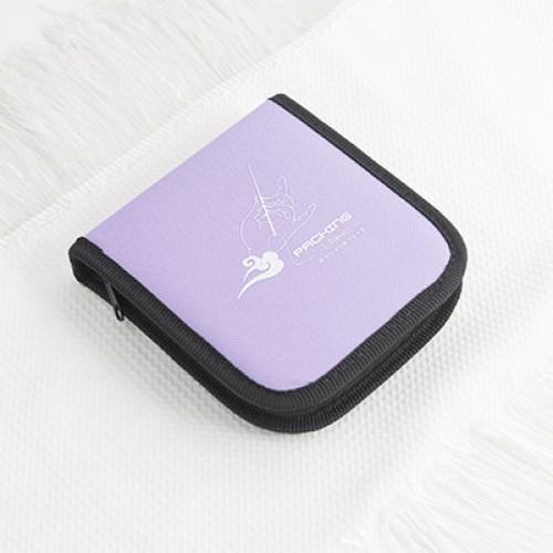 Дорожный набор для шитья Packing I Travel. Фиолетовый  в  Интернет-магазин Zelenaya Vorona™ 1