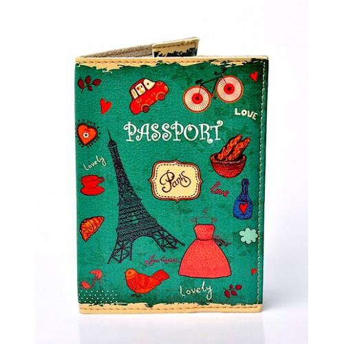 Покупка  Обложка для паспорта Lovely. Зеленый в  Интернет-магазин Zelenaya Vorona™