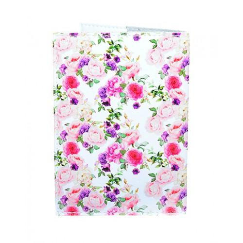Обложка для паспорта с цветами Винтаж  в  Интернет-магазин Zelenaya Vorona™ 1