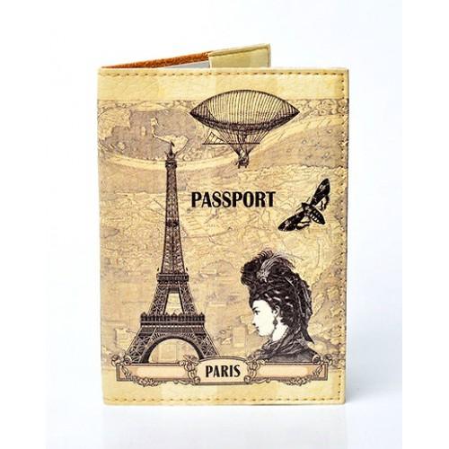 Покупка  Обложка для паспорта Paris в  Интернет-магазин Zelenaya Vorona™
