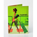 Обложка для паспорта Lady