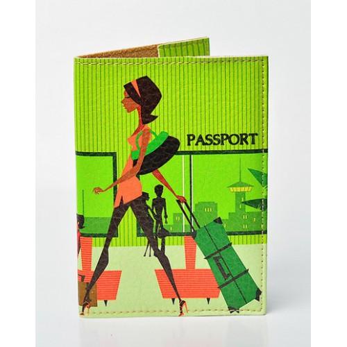 Покупка  Обложка для паспорта Lady в  Интернет-магазин Zelenaya Vorona™