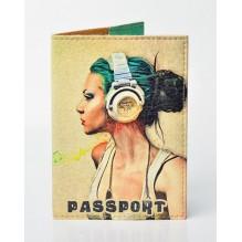 Обложка для паспорта Music