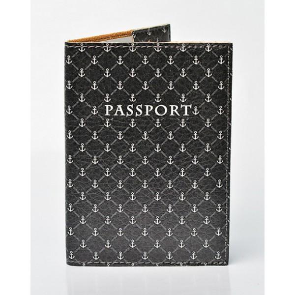Обложка для паспорта Якоря