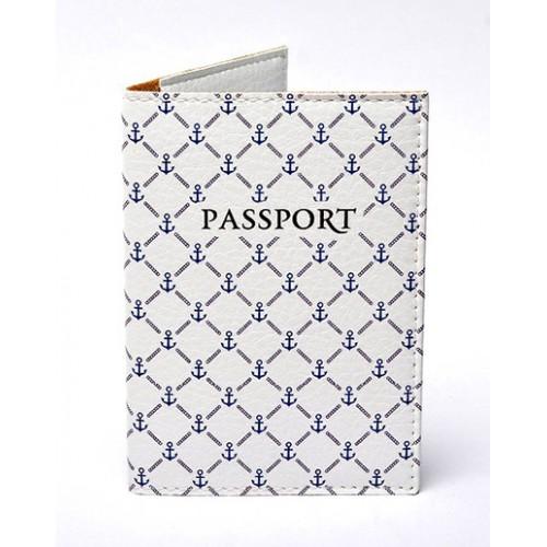 Покупка  Обложка для паспорта Морская в  Интернет-магазин Zelenaya Vorona™