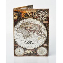 Обложка для паспорта Материки
