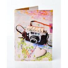 Обложка для паспорта Travel photo